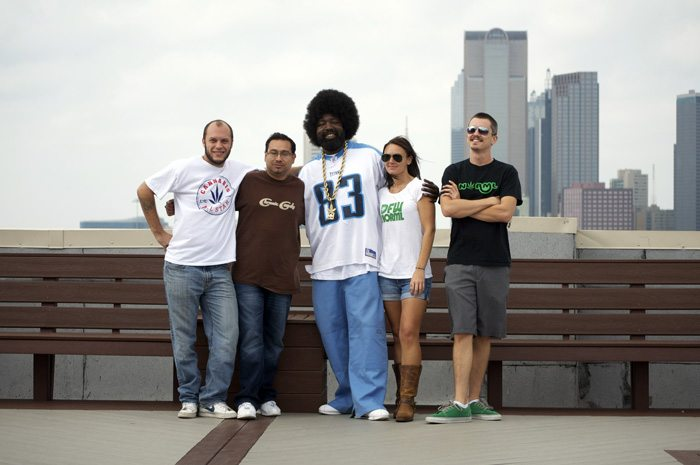 Will Jenkins, Pete Marrero, AfroMan, Andrea Brown & Shaun McAlister