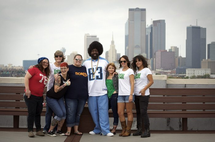 AfroMan & the ladies of DFW NORML