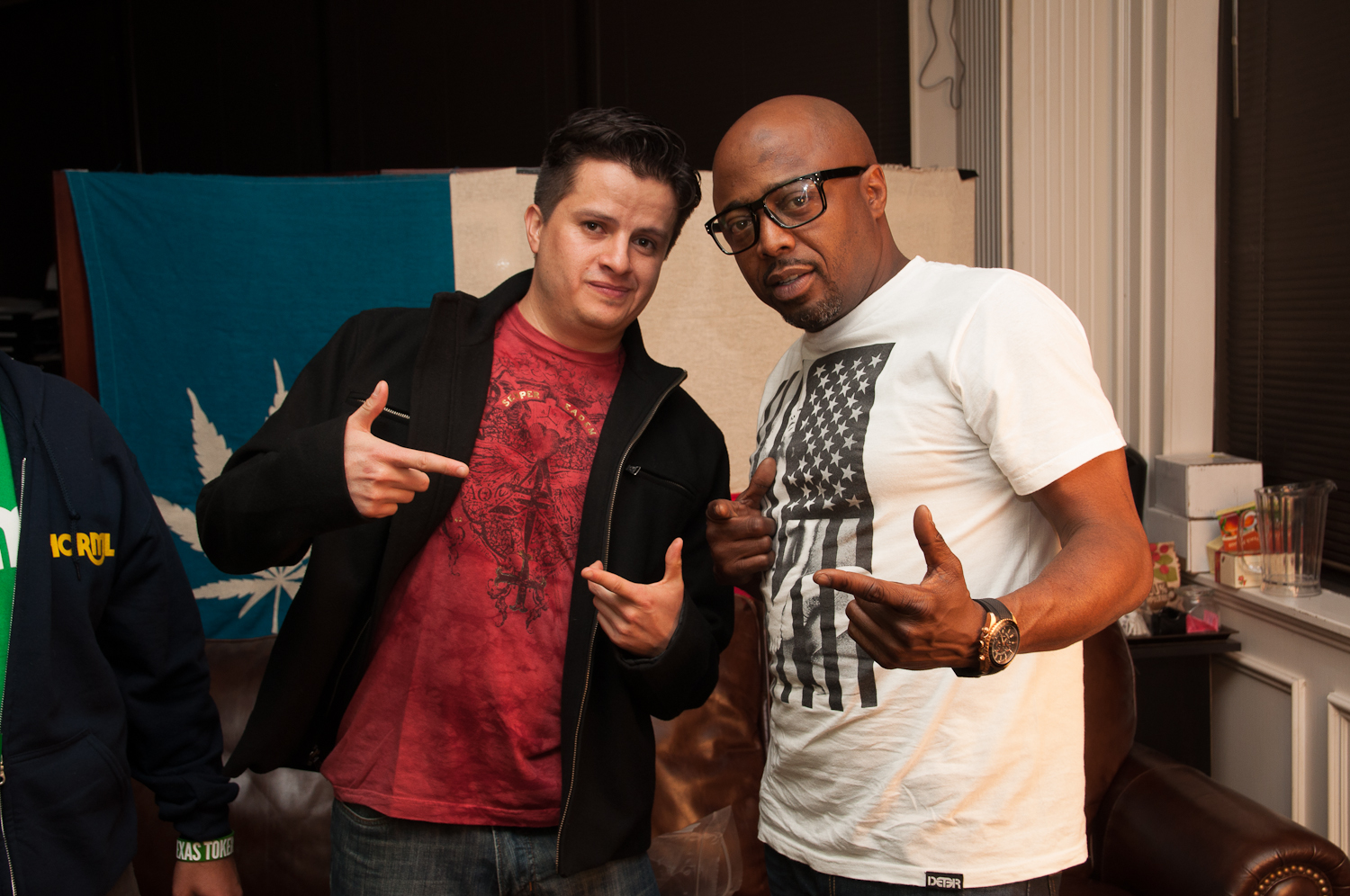 DFW NORML interviews Donnell Rawlings at the Addison Improv Comedy Club