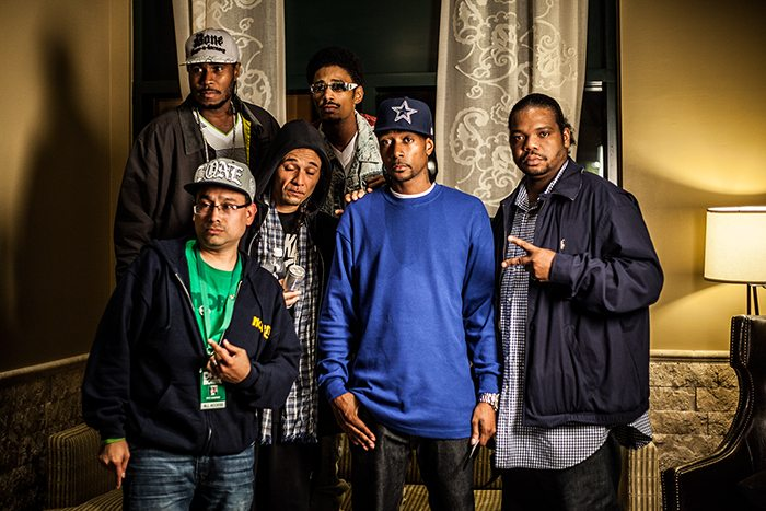 Pete Marrero of DFW NORML with Bone Thugs-N-Harmony