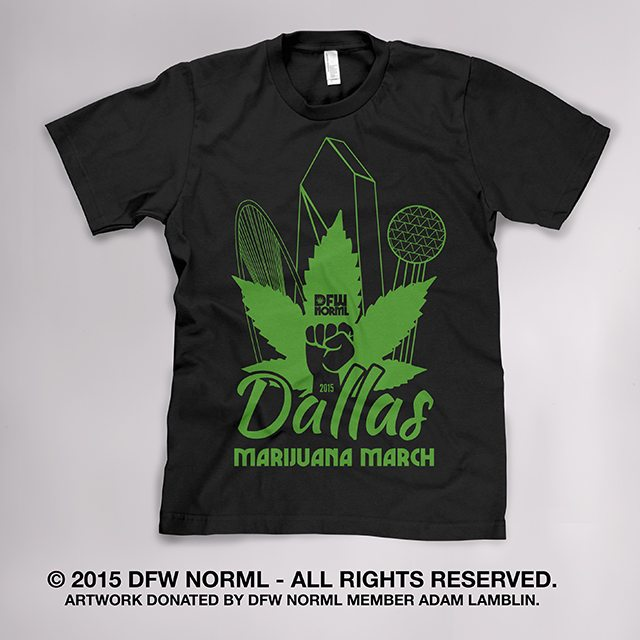 dallas-marijuana-march-2015-official-tshirt
