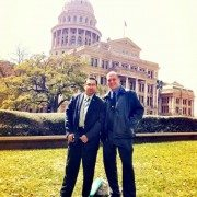 Pete Marrero & Will Jenkins of DFW NORML at the Texas State Capitol