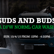 Suds and Buds - DFW NORML Car Wash 2015